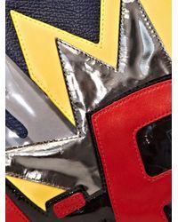 3.1 Phillip Lim | Multicolor Bang Patchwork 31 Minute Clutch Bag | Lyst