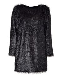 Jil Sander   Black Abstract Intarsia Knit Sweater   Lyst
