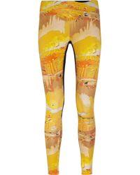 Lucas Hugh Yellow Peter Pan Printed Stretch Leggings