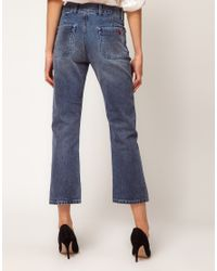 M.i.h Jeans Blue Jane Jeans with Distressing