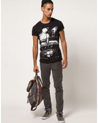 Death by Zero Black Electric Candyland T-shirt for men