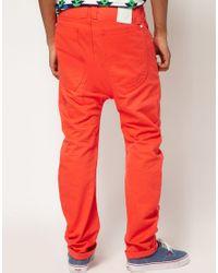 Humor Orange Santiago Chinos for men