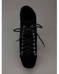 Jeffrey Campbell Black Spike Ankle Boot