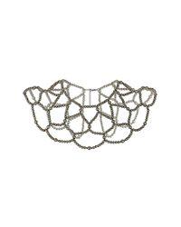 TOPSHOP | Metallic Bead Drape Capelet | Lyst