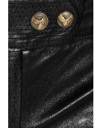 Balmain   Black Skinny Leather Pants   Lyst
