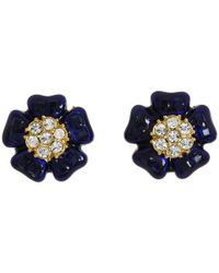 kate spade new york | Blue Carroll Gardens Stud Earrings | Lyst