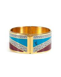 Emilio Pucci - Blue Art Deco Armlet - Lyst