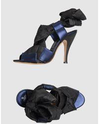 Vivienne Westwood | Black High Heeled Sandals | Lyst