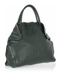 Alexander McQueen   Green De Manta Leather Tote   Lyst