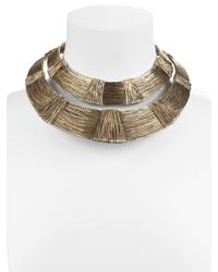 Aurelie Bidermann - Metallic Dakota Necklace - Lyst