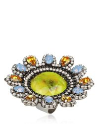 Erickson Beamon | Multicolor Time Warp Ring | Lyst