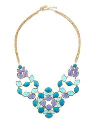 Kendra Scott | Blue Grayce Necklace | Lyst