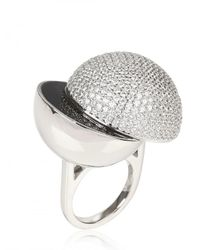 Lara Bohinc | Metallic Collision Ring | Lyst
