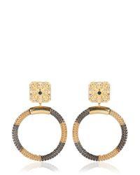 Ledaotto | Metallic Taj Mahal Earrings | Lyst