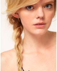 Bing Bang - Metallic Sword Stud Earrings - Lyst