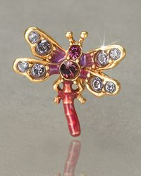 Jay Strongwater | Purple Brooks Dragonfly Tack Pin | Lyst