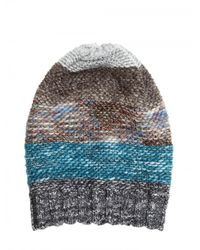 Missoni   Multicolor Blended Wool Knit Hat   Lyst