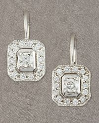 Penny Preville | Metallic Diamond Earrings | Lyst
