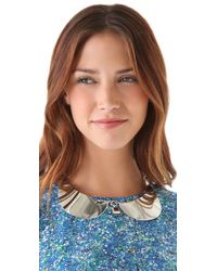 Marc By Marc Jacobs - Metallic Collars Cuffs Collar Necklace - Lyst