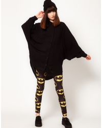 Lazy Oaf Black X Batman Bat Wing Shirt