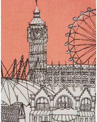Oasis - Pink London Landmark Pouch - Lyst