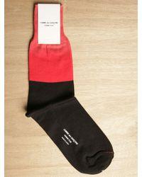 Comme des Garçons Red Comme Des Garçons Homme Plus Mens Socks for men