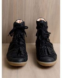Damir Doma Black Damir Doma Mens Ferpen Leather Sneaker for men