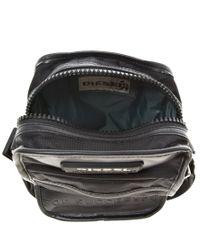 DIESEL Black New Fellow Flight Bag for men