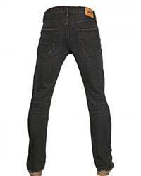 Edwin Black 175cm Slim Fit Destroyed Ed 55 Jeans for men