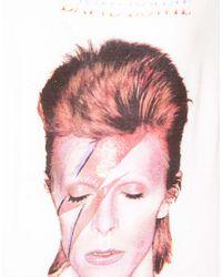 ELEVEN PARIS White Bowie Tshirt