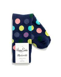 Happy Socks Blue Happy Socks For Madewell Trouser Socks