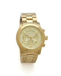 Michael Kors Metallic Mens Oversized Watch