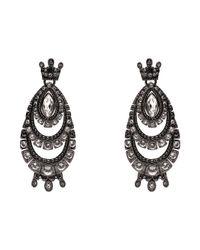 Mimco Black Montague Pavillion Earring