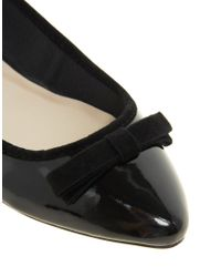 Miss Kg - Lotus Pointed Flat Shoes - Lyst