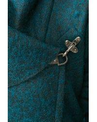 Nasty Gal Green Christopher Wool Coat