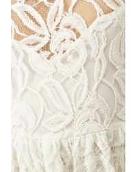 Nasty Gal Layla Lace Dress White
