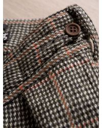 Nigel Cabourn Nigel Cabourn Mens Orange Harris Tweed Pants for men