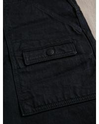 Nonnative Blue Nonnative Mens Worker Jeans 14oz Denim Vintage Wash for men