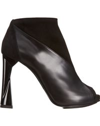 Pierre Hardy - Black Patchwork Ankle Boot - Lyst