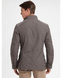 Ralph Lauren Black Label Gray Tech Moto Sportcoat for men