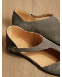 Silent - Damir Doma Green Silent By Damir Doma Womens Shoshone Sandals