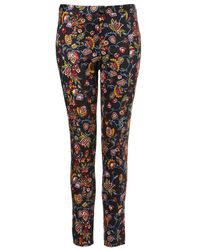 Topshop | Multicolor Tapestry Trousers | Lyst