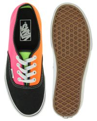 Vans - Multicolor Tri Tone Lace Up Trainers - Lyst