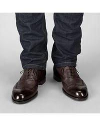 Bottega Veneta Brown Maroon Brunissable York Shoe for men