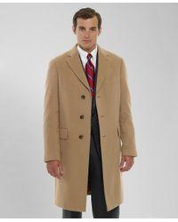Brooks Brothers Brown Camel Hair Regent Coat for men