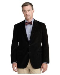 Brooks Brothers Black Madison Fit Corduroy Sport Coat for men