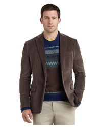 Brooks Brothers Brown Fitzgerald Fit Washed Corduroy Sport Coat for men