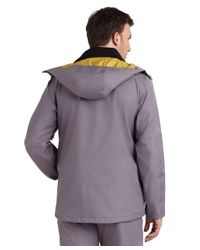 Brooks Brothers Gray Prosport Telluride Ski Jacket Lining for men