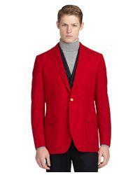 Brooks Brothers Red Fitzgerald Fit Social Primer Tailgate Blazer for men
