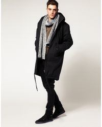 Cheap Monday Gray Nyder Parka for men